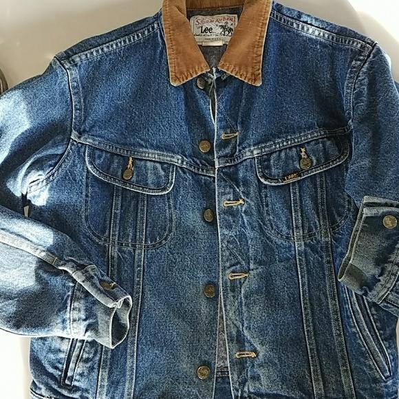 12642b8a Lee Jackets & Coats | Storm Rider Mens Vintage Jean Jacket Small ...